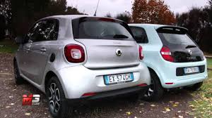 renault twingo 2015 new smart forfour 2015 vs renault twingo 2015 first test drive