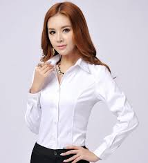 womens blouses for work 2018 autumn novelty formal shirts sleeve for