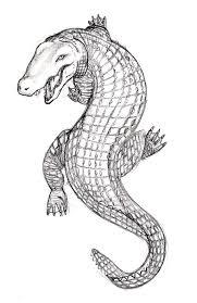 amazing alligator tattoo design by jim cacciabando jr