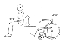 Standard Seat Height Choosing A Standard Self Propelled Wheelchair Assist Ireland