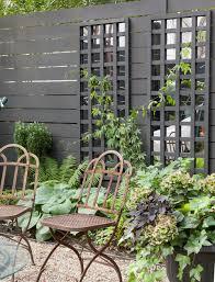 a brooklyn garden makeover u0026 mirrored trellis megan pflug designs