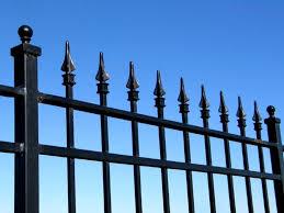 wrought iron fencing finials peiranos fences wrought