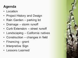 city of burlingame rain garden ppt video online download