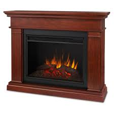 kennedy grand series electric fireplace in espresso