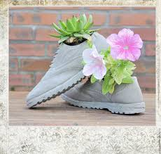 buy planters shoes of concrete creative pots for cacti and