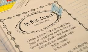 Halloween Poems For First Grade Ocean Week Lesson Plans For Kindergarten U0026 1st