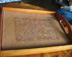 monogrammed serving tray 57 best trays images on serving trays tray and diy