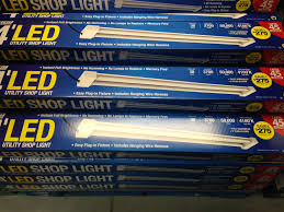 walmart led lights strips feit 4 u0027 led shop light 39 99 costco b u0026m slickdeals net