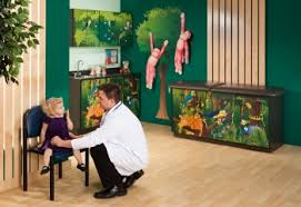Pediatric Exam Tables Rainforest Follies Pediatric Exam Room Lozier Store Fixtures