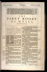 the first booke of moses called genesis original 1611 kjv