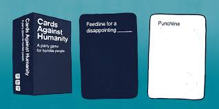 words against humanity cards review cards against humanity shut up sit