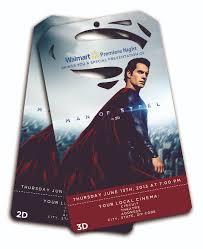 hollywood tests movie ticket sales at walmart with u0027man of steel