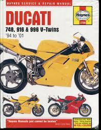 ducati 748 916 996 service manual 1994 2001 haynes 3756