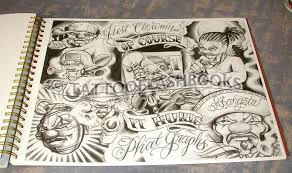 photo collection boog tattoo flash book
