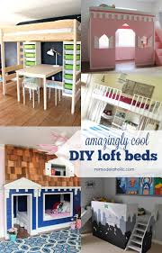 Diy Bunk Bed With Desk Under by Remodelaholic 15 Amazing Diy Loft Beds For Kids