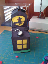 home with kids haunted house craft
