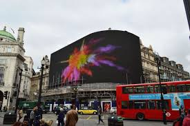 huge new screen in london u0027s picadilly circus will display ads