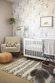 Unique Nursery Decor A Neutral Nursery In White Gray And Beige With A Modern Global