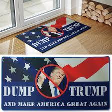 Funny Doormat by Amazon Com Dump Trump Novelty Doormat Includes Dump Trump Bumper
