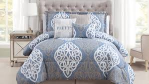 bedding set white and blue bedding certain comforters bedding
