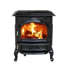 home depot stoves black friday pleasant hearth 1 200 sq ft epa certified wood burning stove