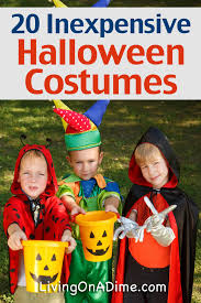 Discount Halloween Costumes 20 Inexpensive Halloween Costume Ideas Living On A Dime