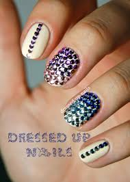 easy and cute rhinestone nail designs with pictures