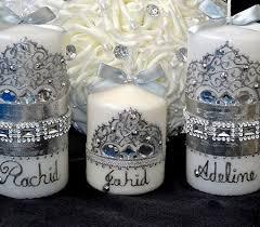 bougie hennã mariage personnalisez votre bougie orientale avec prénom ornement pas cher