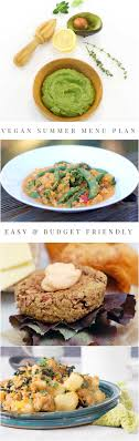 plan it cuisine your week easier with this vegan summer meal plan it will get