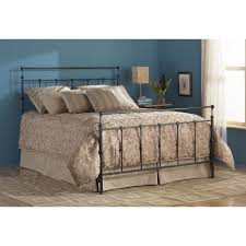 winslow iron bed in mahogany gold humble abode