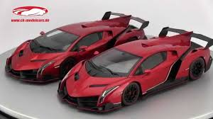 grey lamborghini veneno ck modelcars video comparison between lamborghini veneno autoart