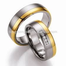 Couple Wedding Rings by 18k Gold Plated Couple Wedding Rings Newest Design Couple Rings