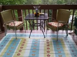 Outdoor Balcony Rugs How To Paint A Faux Outdoor Rug Old Village Paint