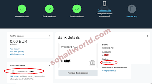 verify paypal account using payoneer eur payment services