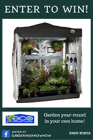 eco garden house indoor greenhouse gardening know how u0027s blog
