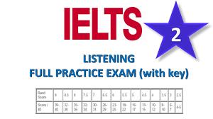 2 ielts listening full practice exam 2 with key youtube