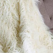 Restoration Hardware Faux Fur Newborn Photography Lamb Faux Fur Throw Blanket Long Fur Blanket