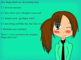 five boring facts about me by wehavetime on deviantart