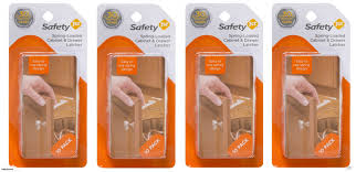 Safety First Cabinet And Drawer Latches Safety 1st Spring Loaded Cabinet And Drawer Latch 40 Pack Trade Me