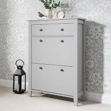 shoe cabinet with drawer shoe cabinets laura james