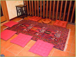 floor seating cushions home design ideas