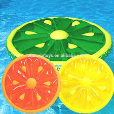 Inflatable Pool Floats by Fruit Slice Inflatable Lemon Float Inflatable Lemon Pool Float