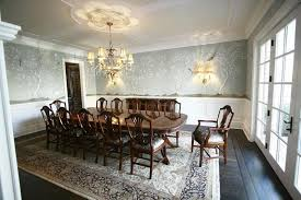 Designs For Epically Large Dining Rooms - Colonial dining rooms