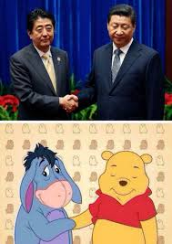 X I Meme - winnie the pooh banned in china over meme comparing him to xi