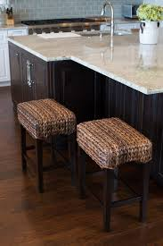 seagrass backless counter stool set of 2