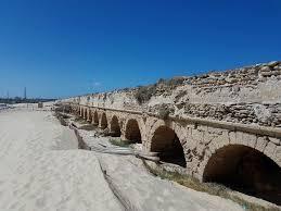 caesarea roman aqueduct 360 holy places