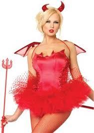 Halloween Costumes Devil Woman Devil Pitchfork Devil Burlesque Costumes Costumes