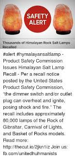 himalayan salt l recall safety alert thousands of himalayan rock salt ls recalled alert