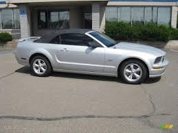 2007 ford mustang gt convertible 2007 satin silver metallic ford mustang gt premium convertible