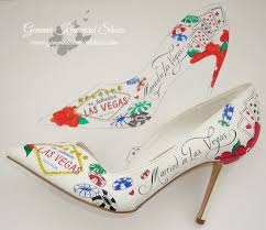 wedding shoes las vegas heels